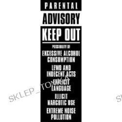 Plakat Parental advisory 158x53
