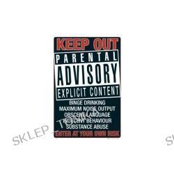 Plakat Parental advisory - keep out 61x91,5