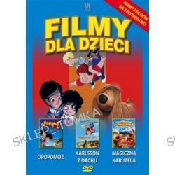 Filmy dla dzieci: Opopomoz + Karlsson z dachu + Magiczna Karuzela