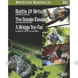 Kolekcja wojenna zestaw 4: Bitwa o Anglię + Wielka ucieczka + O jeden most za daleko