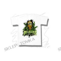 koszulka METALLICA - ON TOUR 2008 biała koncertowa