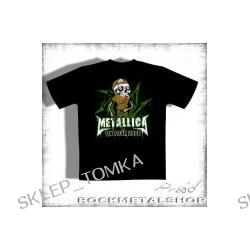 koszulka METALLICA - ON TOUR 2008 czarna koncertowa
