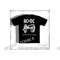 koszulka AC/DC - FOR THOSE ABOUT TO ROTH [KKOL-100] (f)
