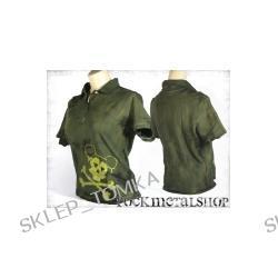 bluzka polo barwiona SKULL MOUSE [KPOL-121] (sz) Underground Fashion
