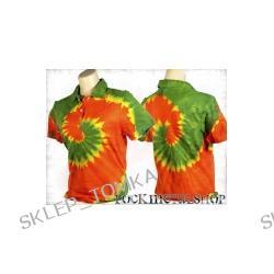 bluzka polo barwiona RASTA MIX [KPOL-106] (sz) Underground Fashion