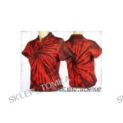 bluzka polo barwiona RED MIX [KPOL-115] (sz) Underground Fashion