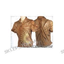 bluzka polo barwiona IROKEZ [KPOL-105] (sz) Underground Fashion
