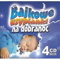 Bajkowe usypianki na dobranoc 1-4 [Box]