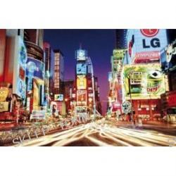 Posters: New York Poster - Times Square (36 x 24 inches)
