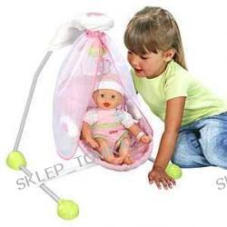 Huśtawka-kołyska dla lalek 2w1 Fisher Price Little Mommy