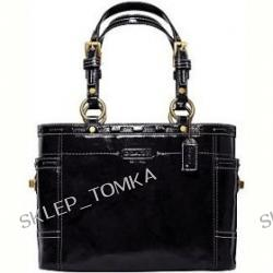 AUTHENTIC COACH PATENT LEATHER GALLERY TOTE 11500 (3 color variations)