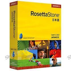 Rosetta Stone v3 Japanese Level 1, 2 & 3