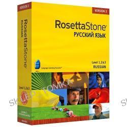 Rosetta Stone V3: Russian, Level 1, 2 & 3