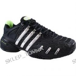 Adidas Barricade V Mens Tennis Shoes - 047395 Black/Silver/Green