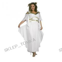 Plus Size Aphrodite Costume Full Figure size 16-22 White Toga Roman Greek Goddess Party Dress
