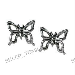 Stud Earrings Sterling Silver - Butterflies