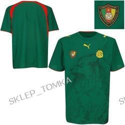 Puma Cameroon Home Soccer Replica Jersey