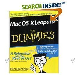 Mac OS X Leopard For Dummies (For Dummies (Computer/Tech)) (Paperback)