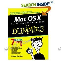 Mac OS X All-in-One Desk Reference for Dummies (Paperback)