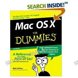 Mac OS X for Dummies, Second Edition (Paperback)