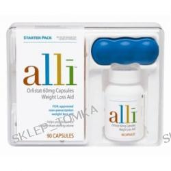 Alli Weight Loss Aid Starter Pack - FDA Approved Orlistat (60mg) Capsules - Available in a 60 or 90 Pack!