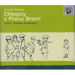 Chłopcy z Placu Broni część 1, 2, 3, 4 - książka audio na 4 CD