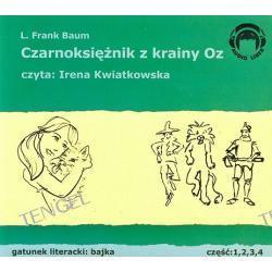 Czarnoksiężnik z krainy Oz część 1, 2, 3, 4 - książka audio na 4 CD
