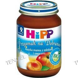 Kaszka manna z mlekiem i owocami