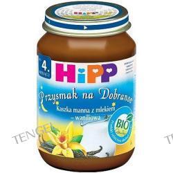 Kaszka manna z mlekiem- waniliowa