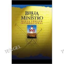 Biblia de Ministro: Nueva Version Internacional (NVI), piel imitacion, negro, indice (Minister's Bible, black imitation leather)