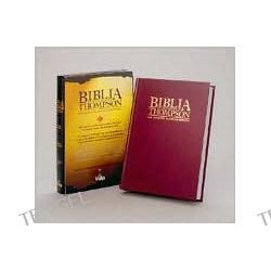 Biblia de Referncia Thompson: 1960 Reina-Valera Revision, tela rojo oscuro (Thompson Chain-Reference Bible, burgundy hardcover)