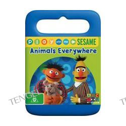 Sesame Street - Play With Me Sesame - Animals Everywhere (Handle Case) DVD