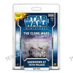 Clone Wars: Showdown at Teth: A Star Wars Miniatures Map Pack