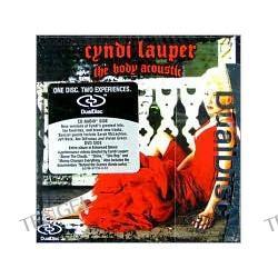 The Body Acoustic [DualDisc] Cyndi Lauper