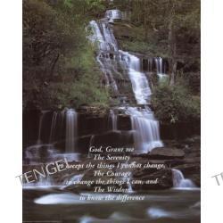 Serenity Prayer and Waterfall