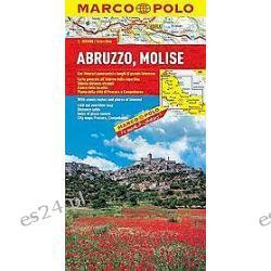 Abruzja, Molise. Mapa Samochodowa 1:300 000