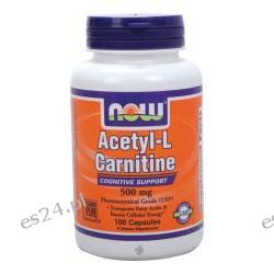 NOW Foods - Acetyl L-Carnitine 500 mg. - 100 Capsules