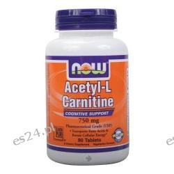 NOW Foods - Acetyl-L-Carnitine 750 mg. - 90 Tablets