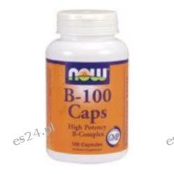 NOW Foods - B-100 Complex - 100 Capsules