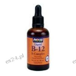 NOW Foods - B-12 Liquid B-Complex 2 oz.