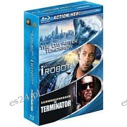 Action Hero 3 Pack Blu-ray United States  The Day After Tomorrow / I, Robot / The Terminator