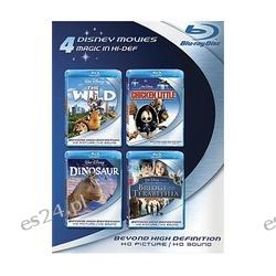 Blu-ray 4-Pack: Disney Movies Blu-ray United States  The Wild / Chicken Little / Dinosaur / Bridge to Terabithia