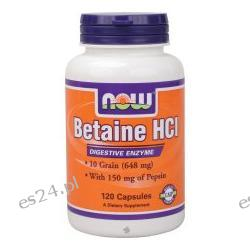 NOW Foods - Betaine HCl - 120 Capsules