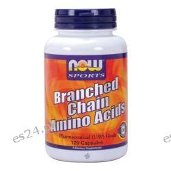NOW Foods - Branched Chain Amino Acids - 120 Capsules