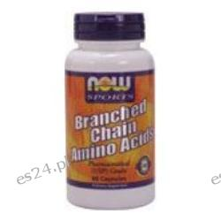 NOW Foods - Branched Chain Amino Acids - 60 Capsules