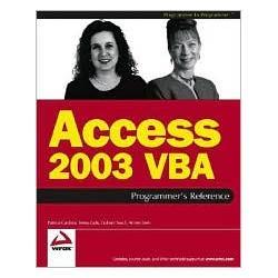 Access 2003 VBA