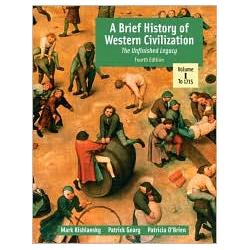 Brief History of Western Civilization, Volume I (Text Only)