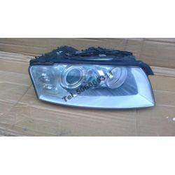 Reflektor xenon Audi A8 (D3) 2006- kompletny