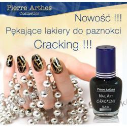 PIERRE ARTHES  Nail Art CRACKING - PĘKAJĄCE LAKIERY DO PAZNOKCI