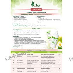 NOWOŚĆ AVA ZESTAW CONTRA ACNE Intensywny zabieg przeciwtrądzikowy(1 zabieg)